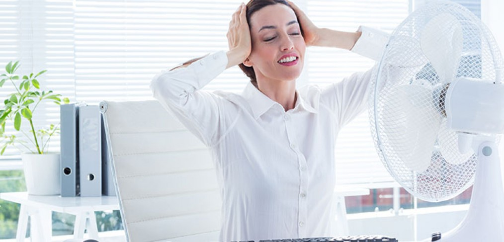 Ways to Keep Cool at Work in a Hot Office