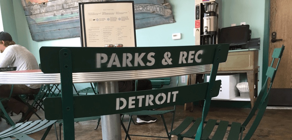 Parks and Rec Detroit Breakfast