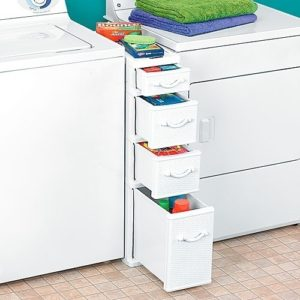 efficient laundry room storage drawers